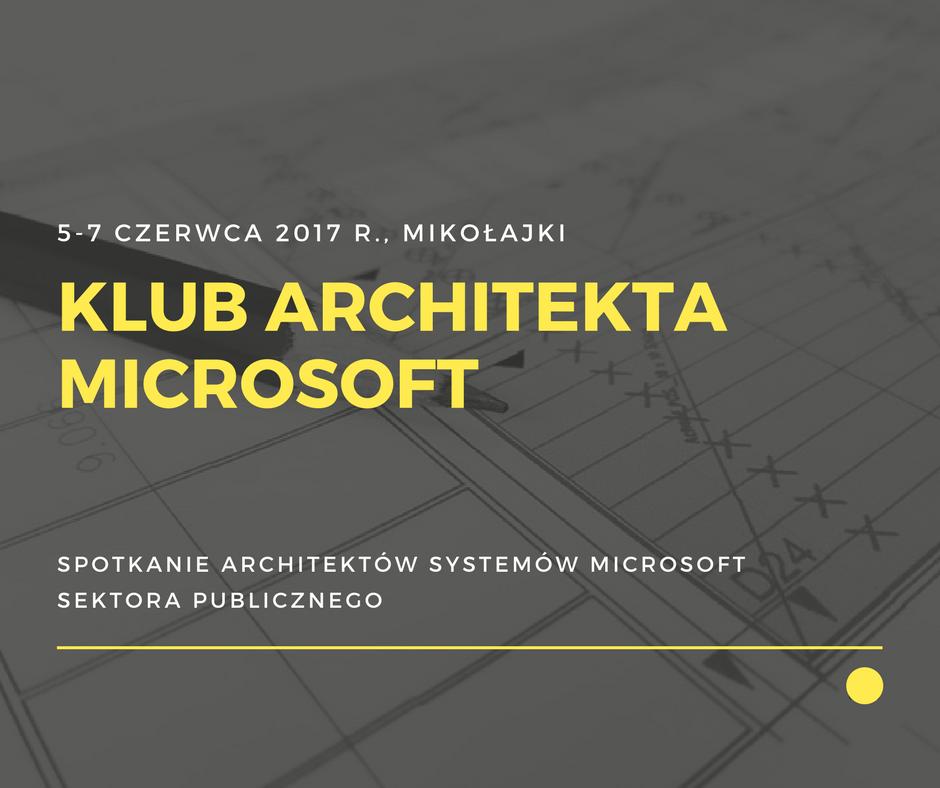 klub architekta microsoft